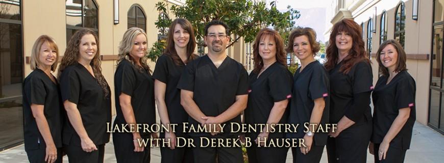 Dr. Derek Hauser, DDS | Lakefront Family Dentistry Staff