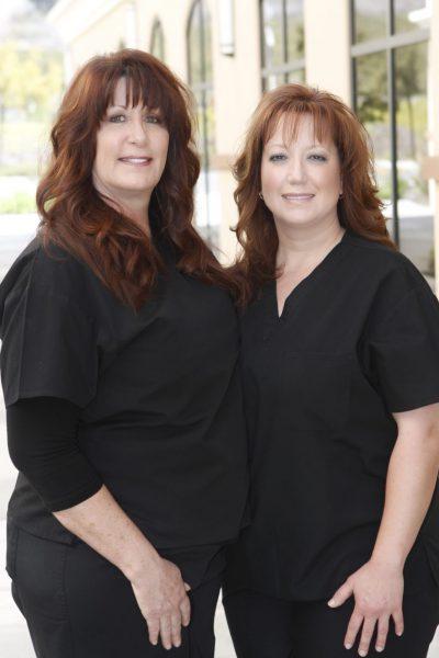 Dental Assistant Suzi and Registered Dental Assistant Patti