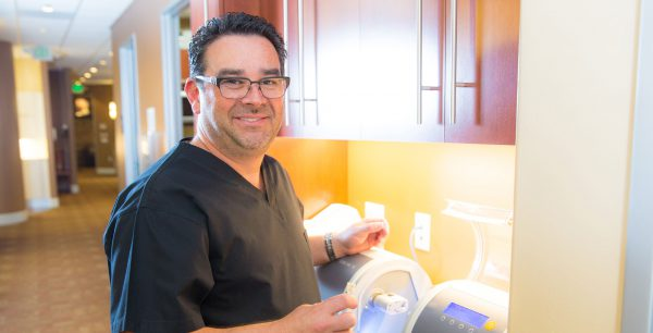 Dr. Derek B. Hauser, DDS, at Lakefront Family Dentistry
